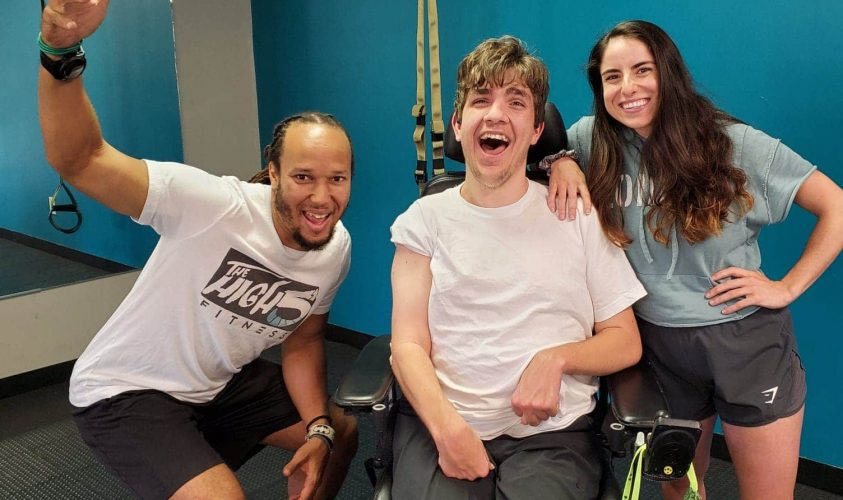 Inclusive Fitness Training; working with those with special needs and disabilities